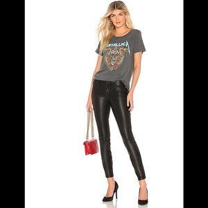 BLANK NYC Vegan Leather Pant in Boom Bap